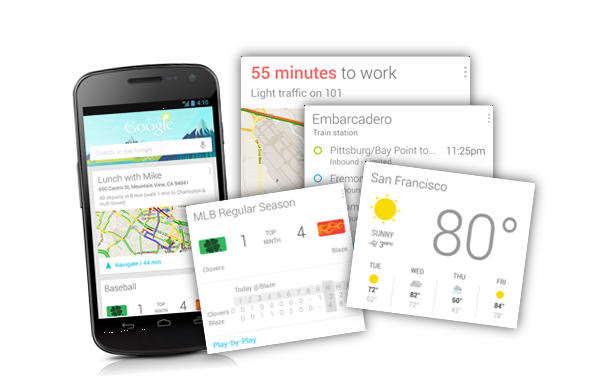 Jelly Bean to have a dedicated Google Now Widget