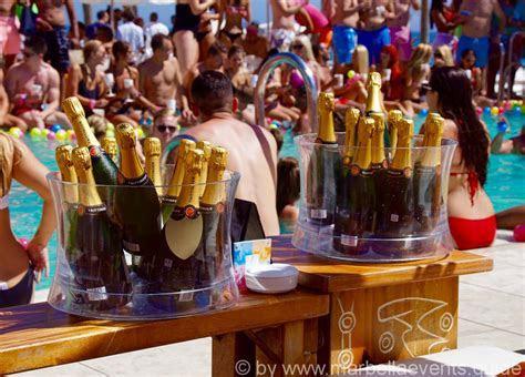 Ibiza Meets marbella @ Nikki Beach   Marbella Events Photos