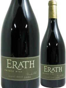 イーラス プリンスヒル ピノ・ノワール 【2006】【赤ワイン】 750ml ERATH PRINCE HILL PI...