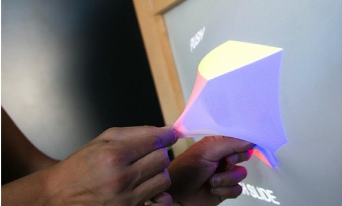 No futuro, monitores poderão criar formas reais (Foto: Divulgação/Ghost)