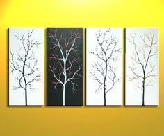 DIY Canvas Art on Pinterest