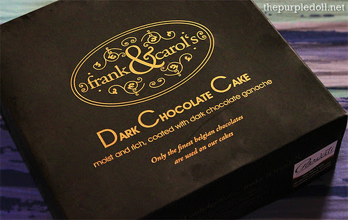 Frank&Carols Dark Chocolate Cake Box