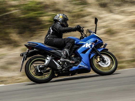Ride and handling dynamics of the Suzuki Gixxer SF is one of the best in its class