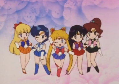 gif do anime Sailor Moon