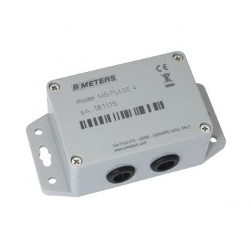 Bmeters MB-PULSE 4 Pulse to Wired M-Bus signal converting module,