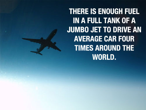 fablious fact about  Fuel of Aeroplane