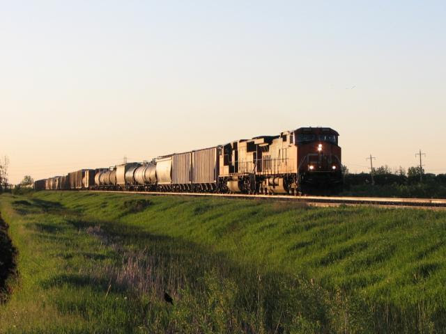 CN 2603 at Winnipeg
