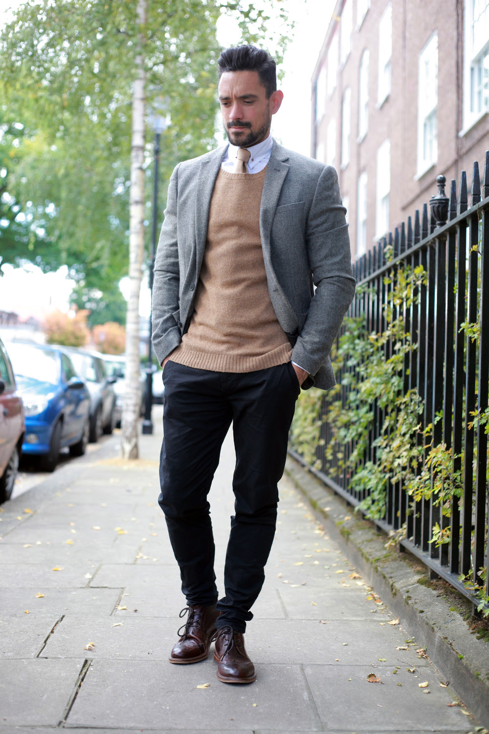 smart casual workwear for autumn — men's style blog