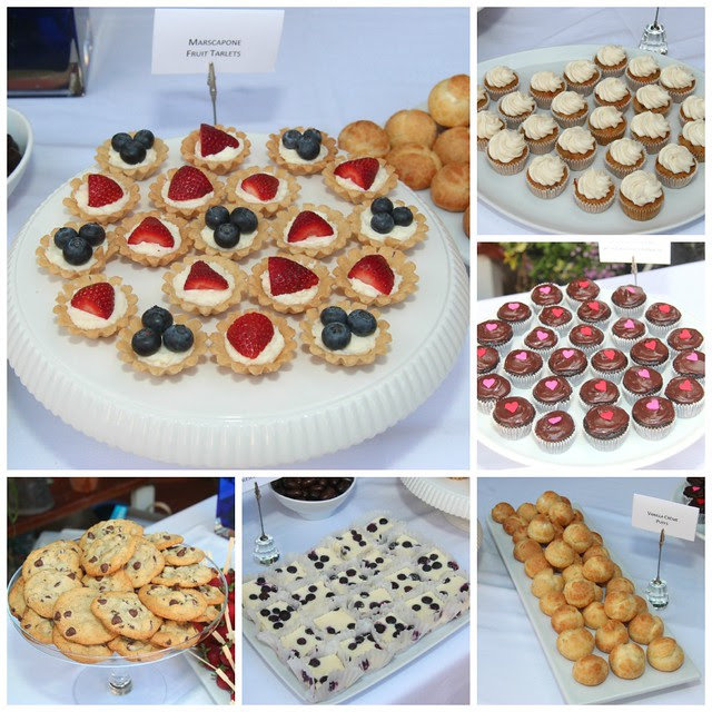 Wedding Dessert Bar Collage #2