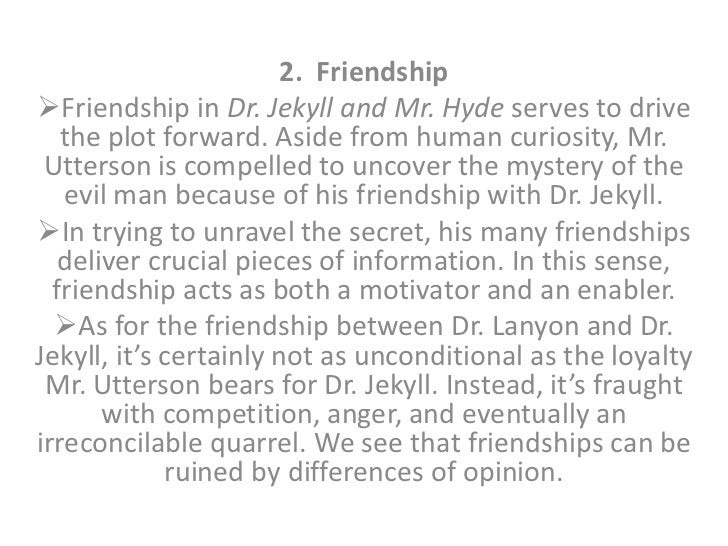 thesis statement dr jekyll and mr hyde