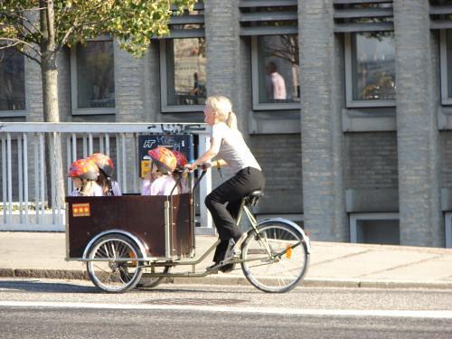 Kids bike transport 2