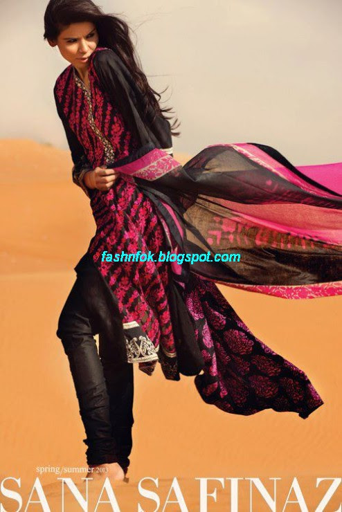 Sana-Safinaz-Lawn-Spring-Summer-Collection-2013-New-Fashinable-Clothes-Dress-Designs-19