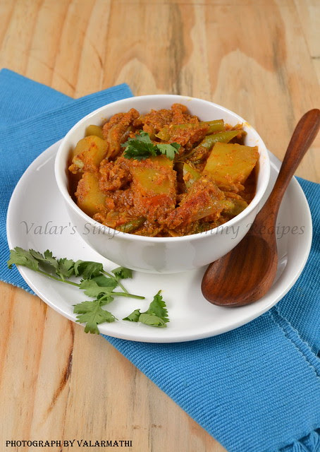 Green Beans & Potato Curry