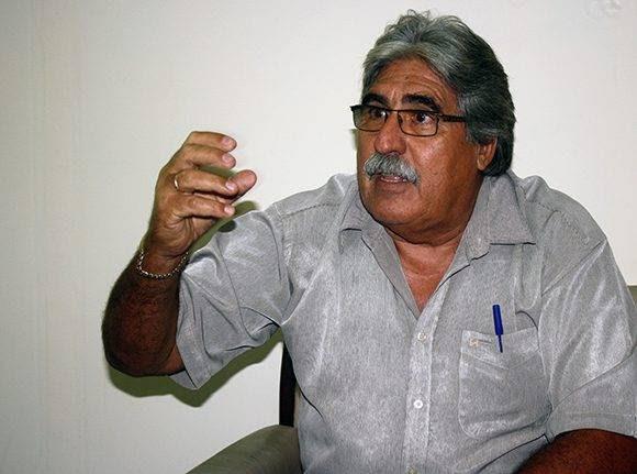 Miguel Ángel Solarana, director de la Antillana de Acero. Foto: José Raúl Concepción/ Cubadebate.