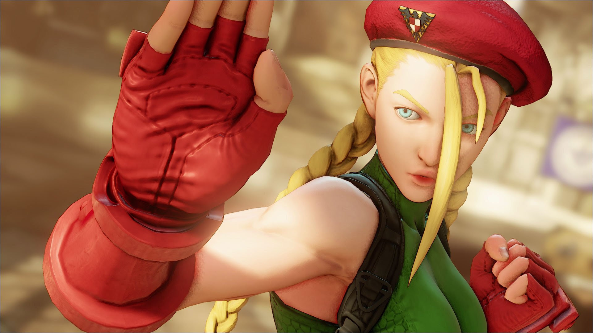 Don't argue, Cammy is clearly the best Street Fighter character ever screenshot