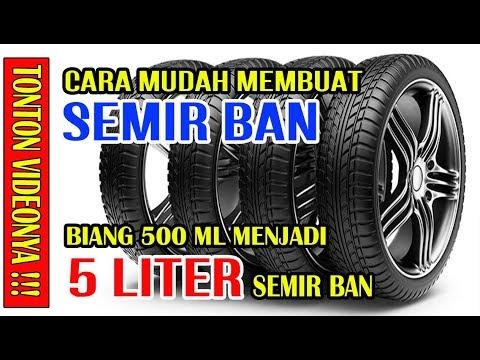Cara Membuat Semir Ban 5 Liter - SB Pemula