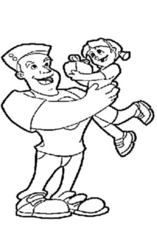 Papa E Hija Para Colorear Colorear Dibujos De Cholo Papa E Hija