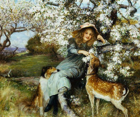Robert Walker Macbeth, Fair Pledges of a Fruitful Tree, 1902