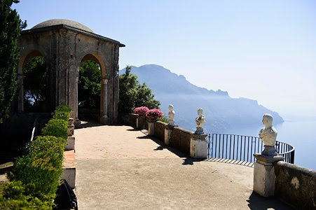 This is only one view of the Villa Cimbrone in Italia where I fully intend on getting married.