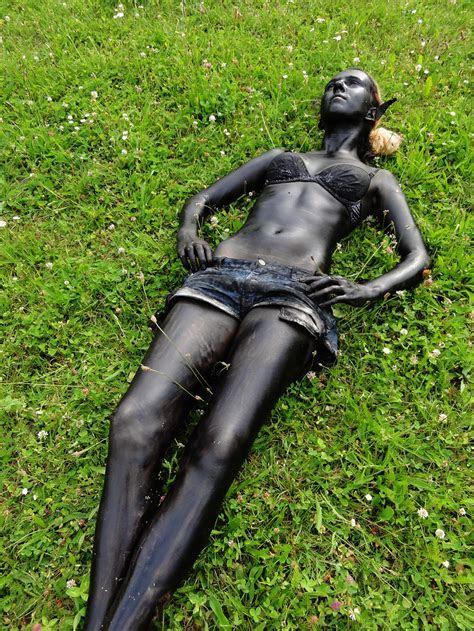 resting drow girl by chrischaaan on DeviantArt