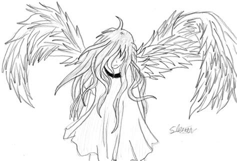 anime angel  flashtheteddy  deviantart