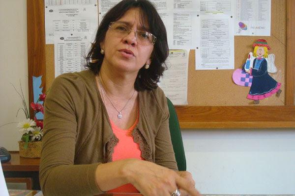Adalgiza Pereira, vice-diretora do Colégio Nossa Senhora das Neves