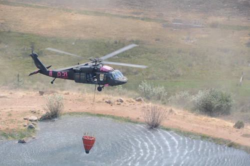 California's citizen Soldiers and Airmen help extinguish raging wildfires by The California National Guard