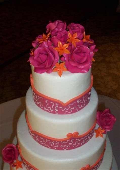 17 Best images about Pink & Orange Wedding on Pinterest
