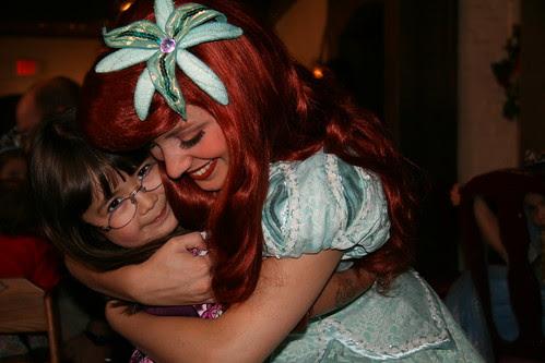 Dova and Princess Ariel