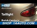 2004 Buick Century Tail Light Bulb