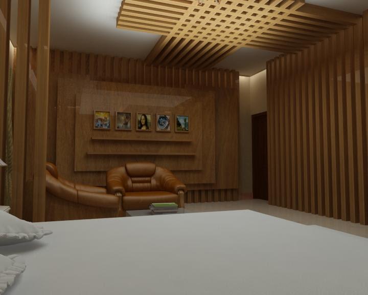 Ultra Cool Ceiling Design In Wood For Bedroom Gharexpert
