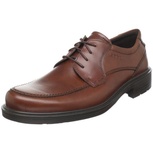 Big Sale ECCO Men's Boston Lace-Up,Mink,45 EU/11-11.5 M US