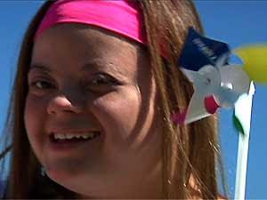 Tathiana Heiderich representará o Brasil na ONU em Dia Mundial da Síndrome de Down (Foto: Arquivo Pessoal)