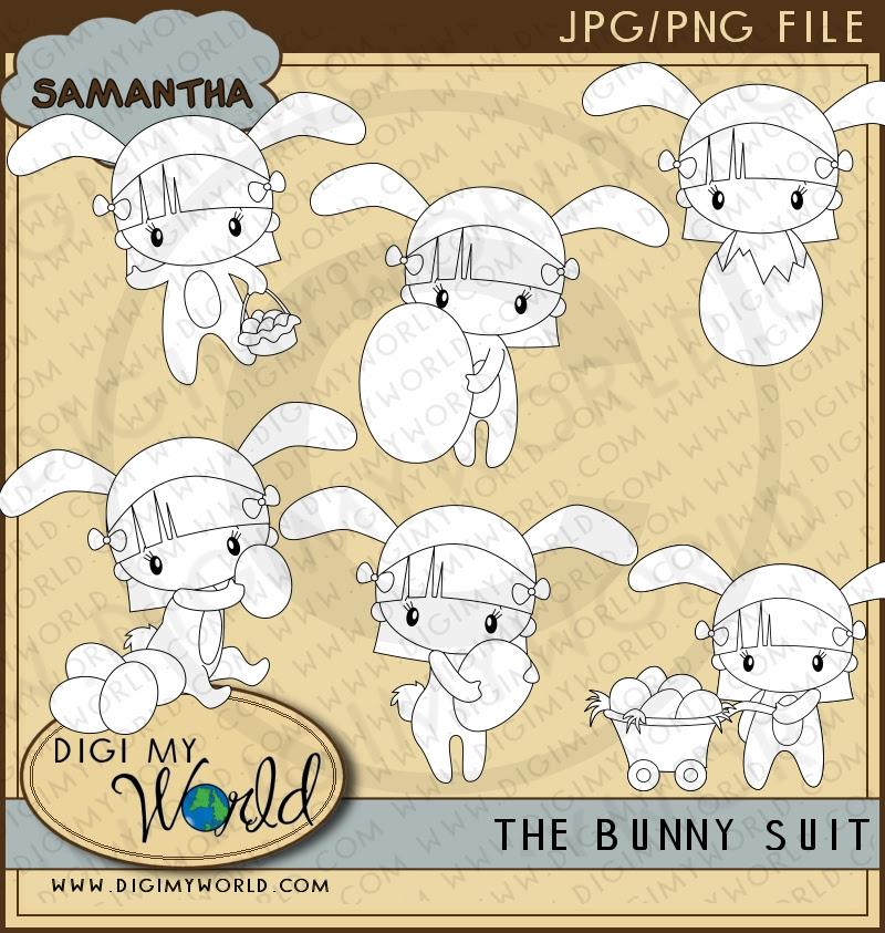 Bunny Suit - Samantha