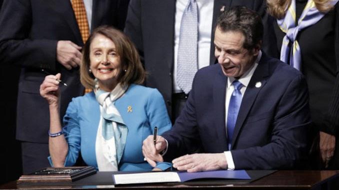 Pelosi & Cuomo Sign Gun Confiscation Bill into Law