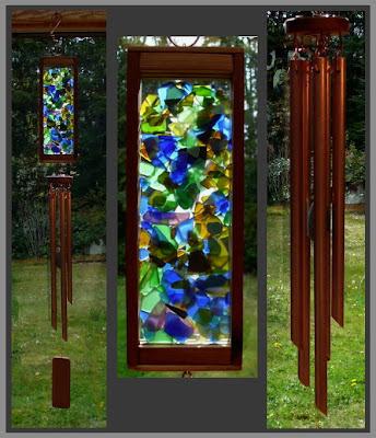 windchime, copper, handcrafted, art