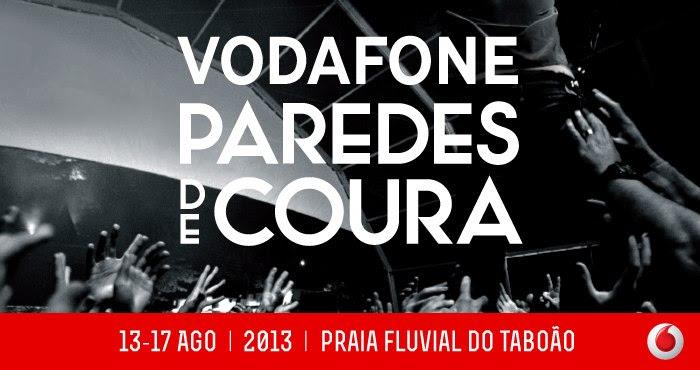 Paredes de Coura 2013 line up festival portugal