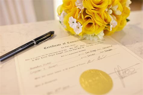 Fake Marriage Certificate Las Vegas   The Little Vegas Chapel