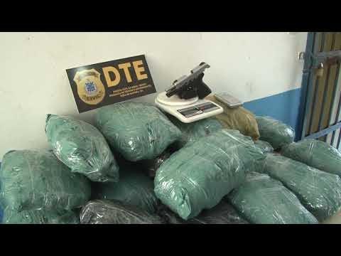 DTE DE FEIRA PRENDE TRAFICANTE COM 17KG DE MACONHA