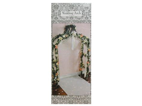 white decorative wedding arch  hobby lobby sarahs