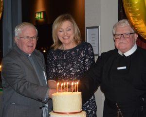 Fr Dan Baragry CSsR, Mary Kennedy and Fr Brendan Convery CSsR