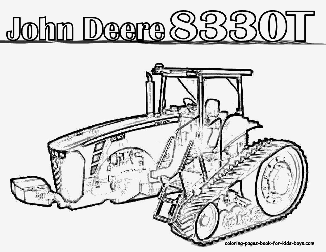 john deere ausmalbilder traktor  malvorlagen