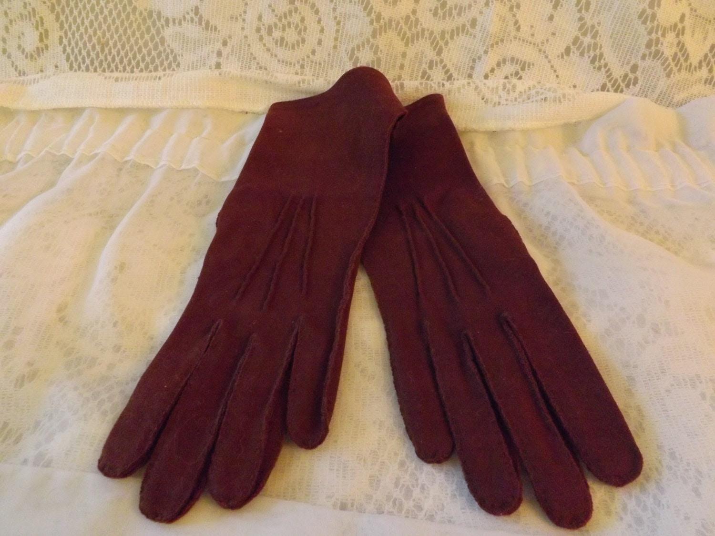 """60's Kayser """" Marvelour"""" Women's Dress Gloves"""