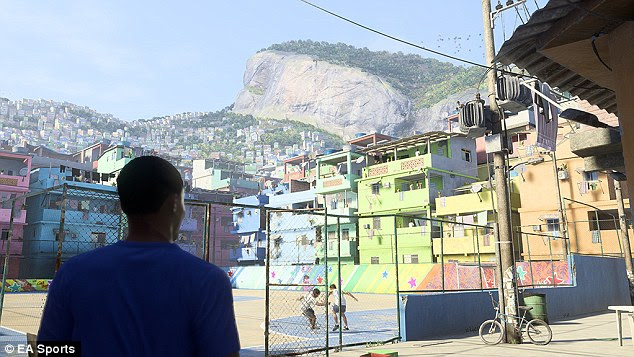 Rio de Janeiro is the stunning backdrop to the opening scenes for this year's Journey mode