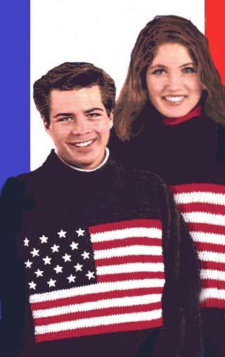 American Flag Sweater Pattern (Crochet) Free pattern
