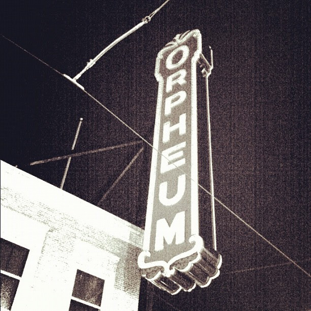 #memphis #orpheum left at intermission, not my thing ;)