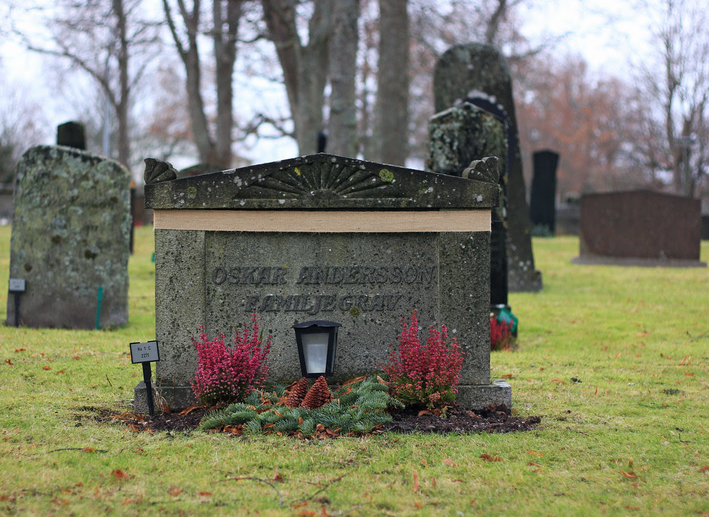 Secured Headstone