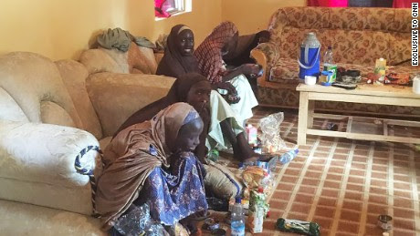 Image result for pictures of released chibok girls