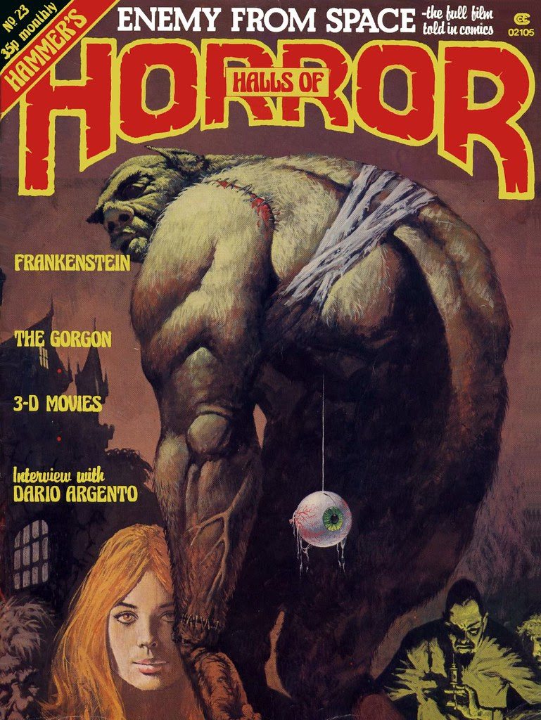 House Of Hammer Magazine  (Halls Of Horror) - Issue 23 (1982)