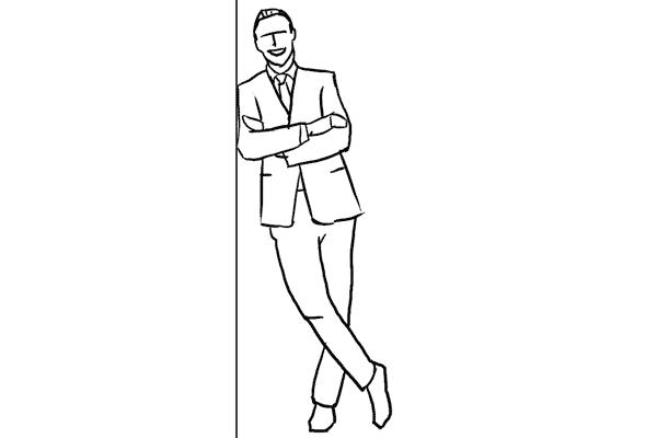 Позирование: позы для мужского портрета 8